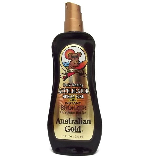 Accelerator Spray Gel Instant Bronzer 177ml Australian Gold