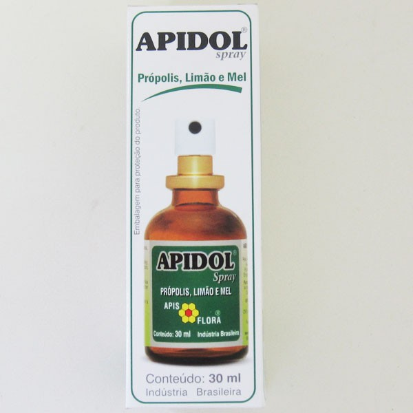 Apidol Spray Sabor Limão - 30ml