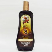 Australian Gold - SPF8 - Spray Gel - com Instant Bronzer - 237ml